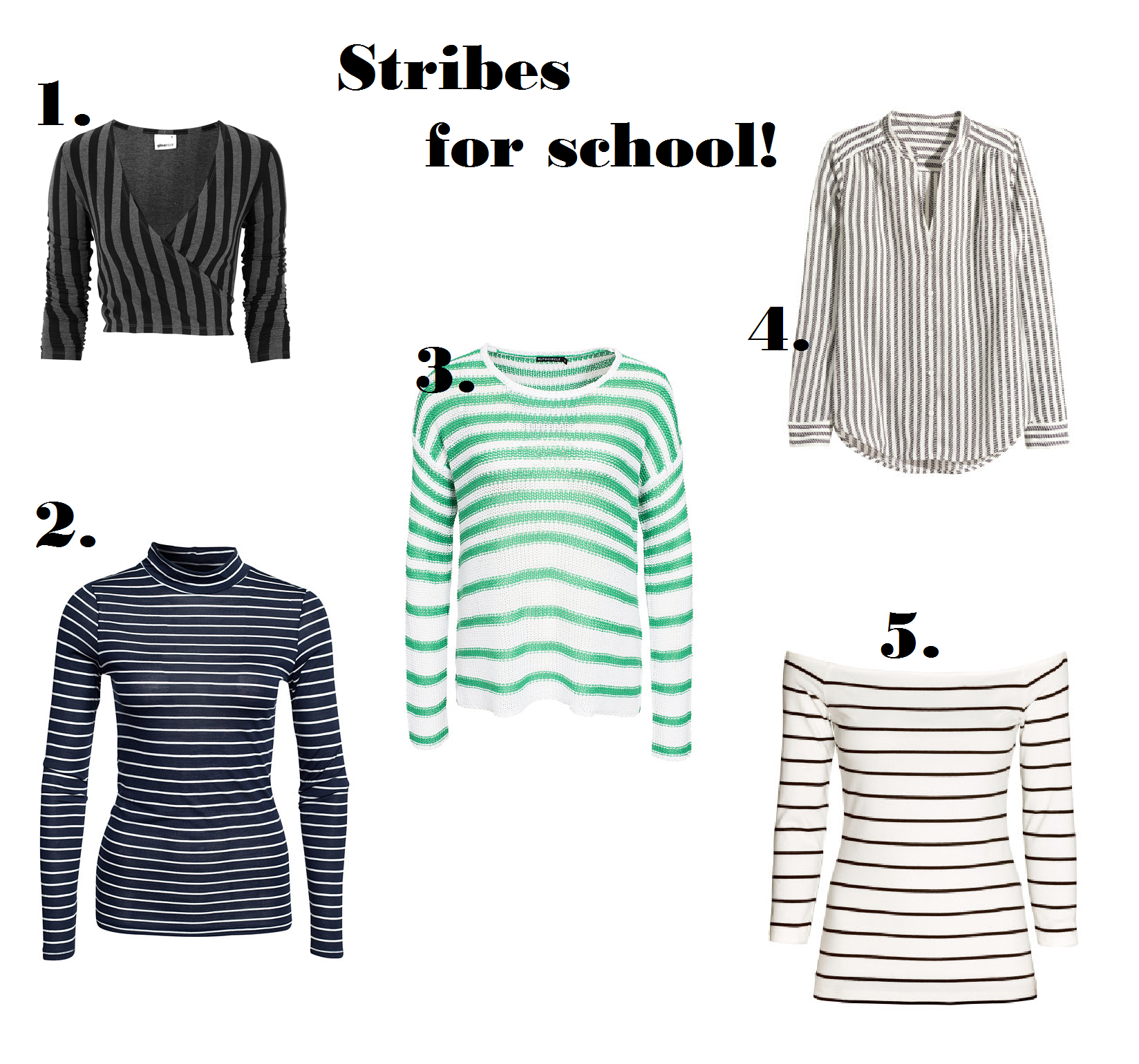 Stribes for school
